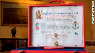 Buckingham Palace shares image of Queen's official consent for Prince Harry's marriage