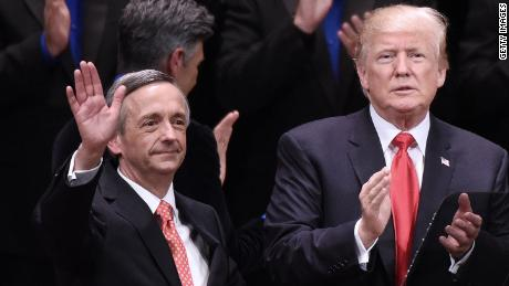 Pastor Robert Jeffress