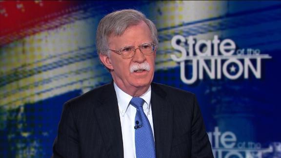 Jake Tapper interviews National Security Adviser John Bolton
