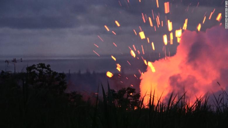 See lava spew hundreds of feet into air