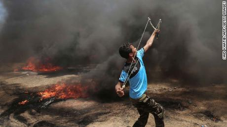 Palestinians killed in Gaza protests