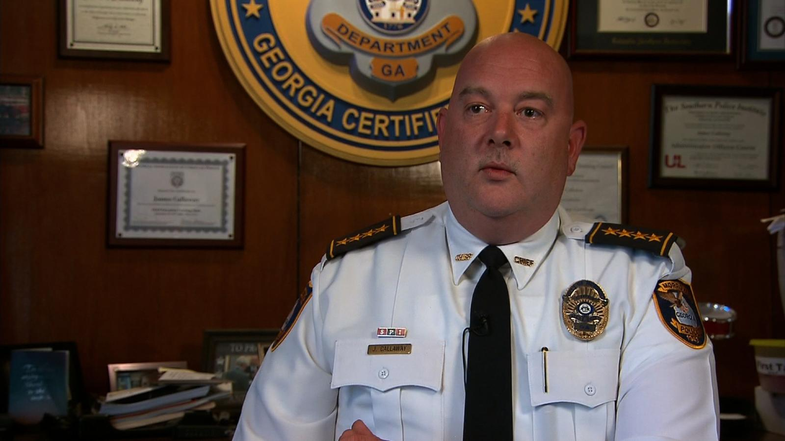 Morrow Police Chief James Callaway immediately replaced his officers' P320s when he heard about the flaw.