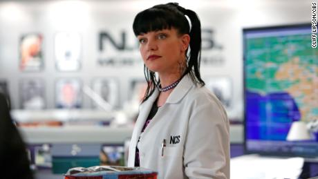 """Under the Radar"" -- The NCIS team must rely on Twitter for a case involving  a missing Navy Lieutenant, on NCIS, Tuesday, Oct. 8 (8:00-9:00 PM, ET/PT) on the CBS Television Network. Pictured: Pauley Perrette Photo: Cliff Lipson/CBS ©2013 CBS Broadcasting, Inc. All Rights Reserved."