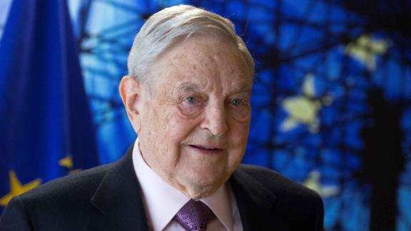 George Soros, Founder and Chairman of the Open Society Foundations.