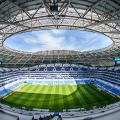 Kosmos Arena samara world cup russia 2018 pitch view