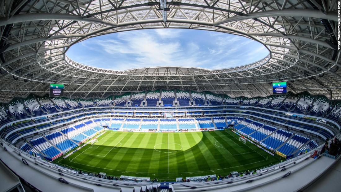 <strong>Samara Arena World Cup schedule:</strong> Group stage, last 16, quarterfinals<strong><br />Legacy</strong>: The 44,918-capacity stadium will be known as Cosmos Arena, hosting Russian second-tier side FC Krylia Sovetov Samara.