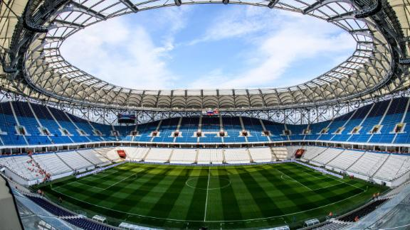 Volgograd Arena World Cup schedule: Group stage  Legacy: The 45,000-seater will become the home ground of second-tier side FC Rotor Vologograd.