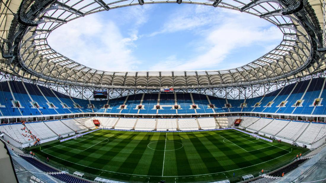 <strong>Volgograd Arena World Cup schedule: </strong>Group stage <strong><br />Legacy</strong>: The 45,000-seater will become the home ground of second-tier side FC Rotor Vologograd.