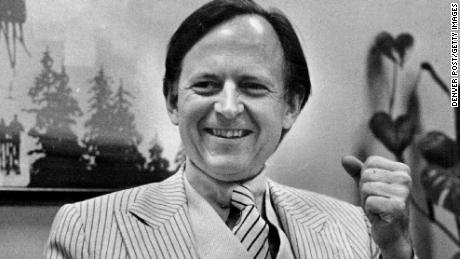 OCT 24 1979, OCT 26 1979, 1981, FEB 7 1982, JUL 14 1985 Tom Wolfe - Ind Writer Credit: Denver Post (Denver Post via Getty Images)
