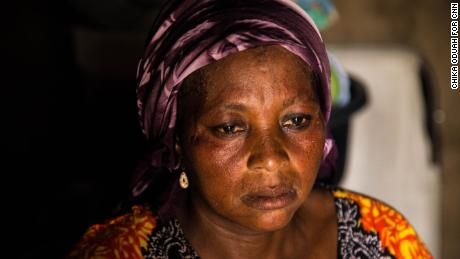 Rebecca Sharibu, the mother of kidnapped Dapchi girl Leah Sharibu.