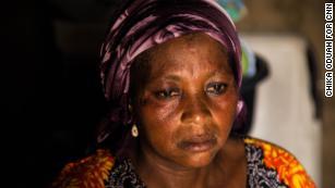 The mother of missing Dapchi schoolgirl Leah Sharibu