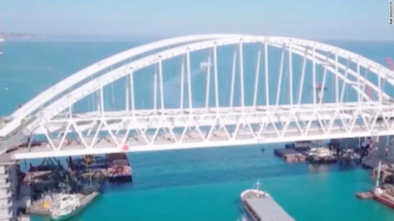 Russia S Bridge To Crimea A Metaphor For The Putin Era Cnn