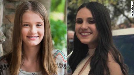 Parkland shooting victims Alaina Petty, left, and Alyssa Alhadeff.
