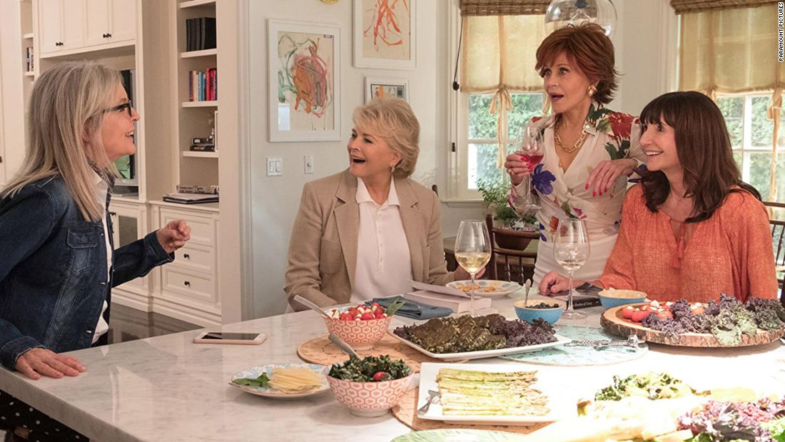 "<strong>""Book Club""</strong>: Diane Keaton, Candice Bergen, Jane Fonda and Mary Steenburgen star as a group of mature women whose selection of ""50 Shades of Grey"" for their monthly book club leads to some surprising results. The film is in theaters <strong>May 18. </strong>"