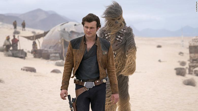 'Solo: A Star Wars Story' flies into theaters