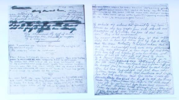 Images of the pages were released during a press conference on Tuesday.