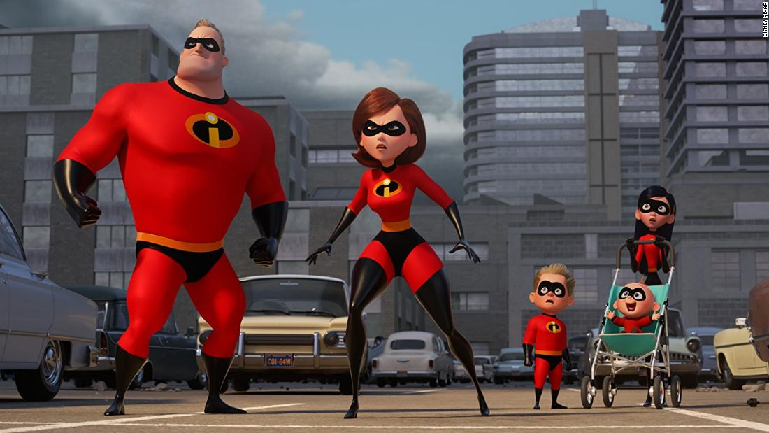 "<strong>""Incredibles 2""</strong>: Fans have been waiting for Pixar to release the sequel to ""The Incredibles"" since that film dropped in 2004. This time, the story centers around the matriarch of the Parr family, Elastagirl. She is kept plenty busy fighting crime while her husband, Mr. Incredible, is home tending to their superhero kids. The animated film comes to theaters <strong>June 15.</strong>"