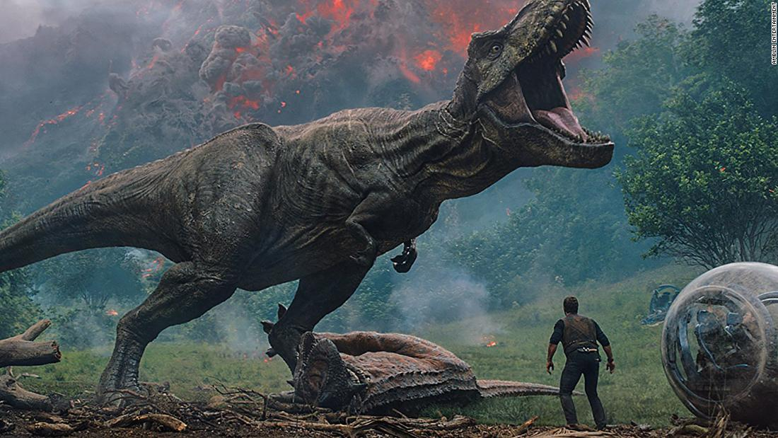 "<strong>""Jurassic World: Fallen Kingdom""</strong>: The fifth installment of the ""Jurassic Park"" franchise finds star Chris Pratt returning as Owen Brady. He teams up with girlfriend Claire Dearing (Bryce Dallas Howard), who has formed a dinosaur rescue organization. The movie roars into theaters <strong>June 22</strong>."