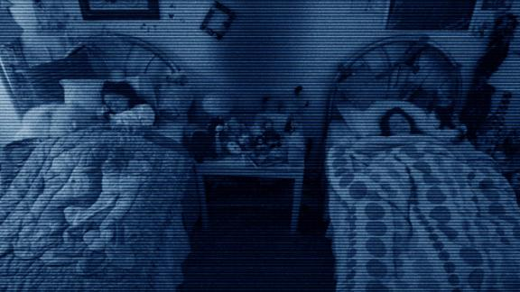 """The """"Paranormal Activity"""" series -- The found footage subgenre took flight with """"The Blair Witch Project,"""" but the """"Paranormal Activity"""" franchise really brought the scares home. The original focused on a couple documenting their haunted home, and grossed $193 million from a tiny $15,000 budget."""