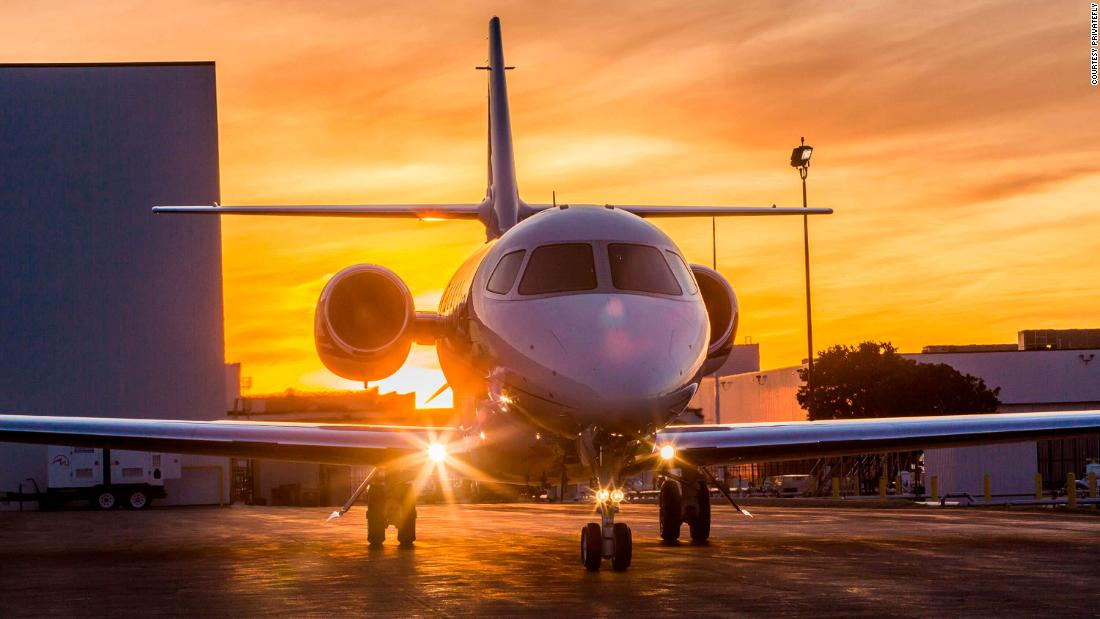 The charter jet business is booming