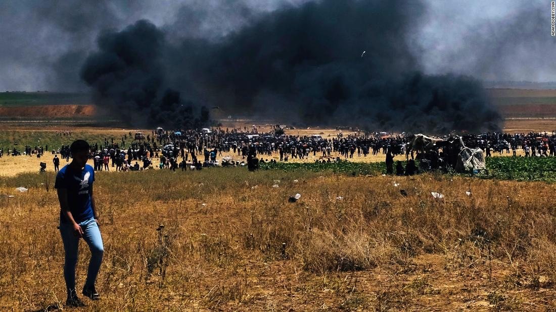 Hamas claims 50 of its members died in Monday's clashes in Gaza