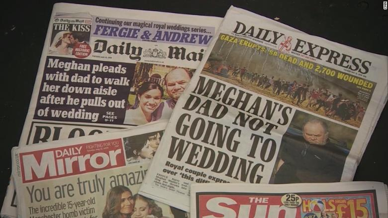 Royals' tense relationship with tabloid media