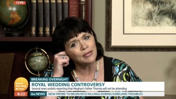 "1. Samantha Markle interview with Piers Morgan on Good Morning Britain 2. Express.co.uk 3. ITV ""Good Morning Britain"" 4. London 5. SOT Samantha: I think he (dad) had a right to defend himself. They have an obligation, an ethical obligation, to allow me to be portrayed as I am. Living a healthy lifestyle. Not caught in an unflattering positions as media vultures have done. Piers: There"