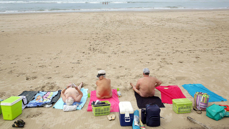 Nude beach on clear creek road