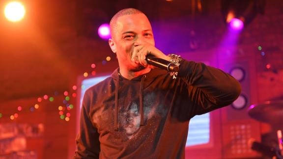 Rapper T.I. and The Roots perform at SXSW on March 18, 2017 in Austin, Texas.