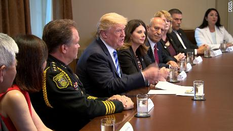 Trump Round Table.Trump Breaking Up Families Because Of Dems