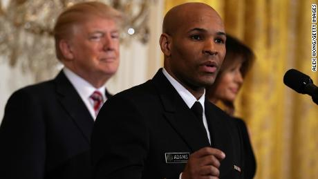 US surgeon general contradicts Trump on Covid-19 death toll