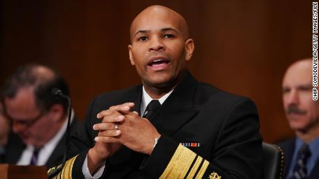 WASHINGTON, DC - NOVEMBER 15:  U.S. Surgeon General Jerome Adams testifies before the Senate Health, Education, Labor and Pensions Committee in the Dirksen Senate Office Building on Capitol Hill November 15, 2017 in Washington, DC. Adams testified about community-level health promotion programs and businesses that offer incentives to employees that practice healthy lifestyles.  (Photo by Chip Somodevilla/Getty Images)