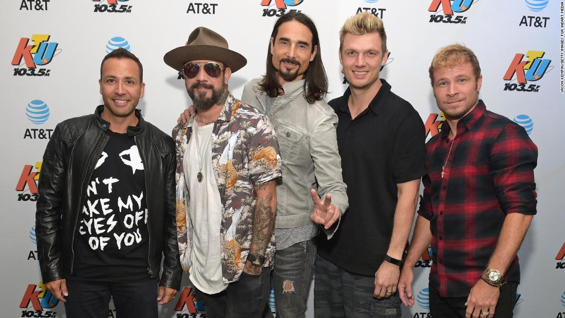 Backstreet Boys are back (alright!) with a new single