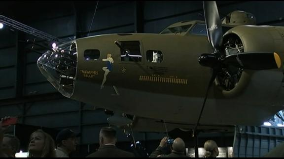 The Memphis Belle and other artifacts are on display at the National Museum of the US Air Force.