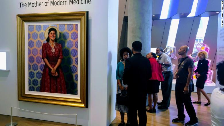 Henrietta Lacks portrait hangs in Smithsonian