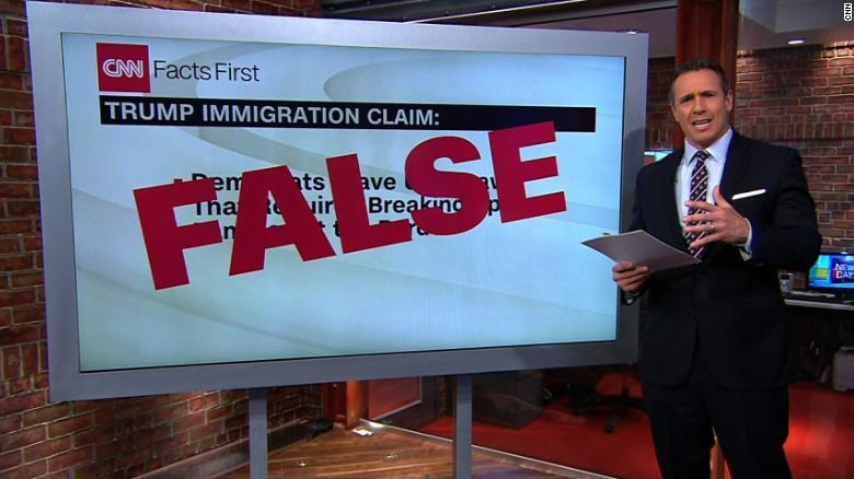 Cuomo fact-checks Trump's claim on immigration