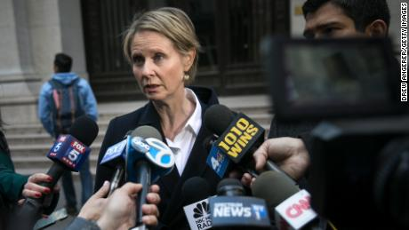 New York has had 56 governors, all male. Cynthia Nixon is challenging incumbent Gov. Andrew Cuomo in the Democratic primary.