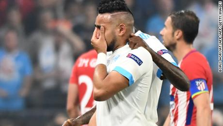 Dimitri Payet limps off in tears.