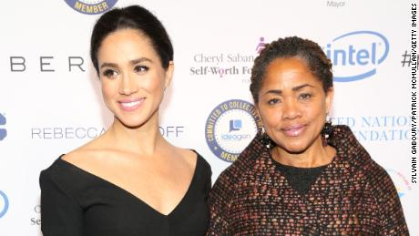 Meghan her mother attend UN Women's 20th Anniversary of the Fourth World Conference of Women in Beijing in March, 2015 in New York City.