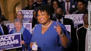 Stacey Abrams stands out in a record year for women -- she hopes to be the first black female governor