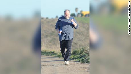 Meghan Markle's father, Thomas Markle Senior, works up a sweat as he gets into healthy shape ahead of the Royal Wedding. The retired Hollywood lighting director, 73, is reportedly planning to walk Meghan down the aisle when she and Prince Harry exchange vows on May 19.