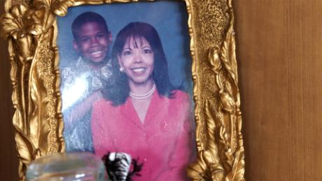 A portrait of McBath and her son Jordan celebrating Mother's Day.