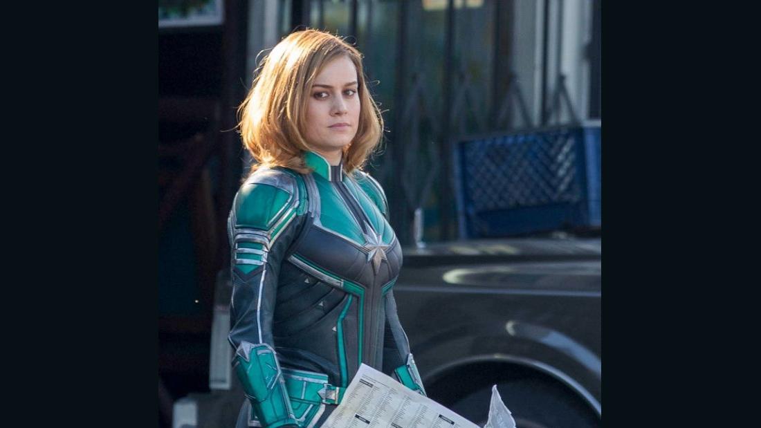 Brie Larson Takes Flight In New Captain Marvel Trailer Cnn