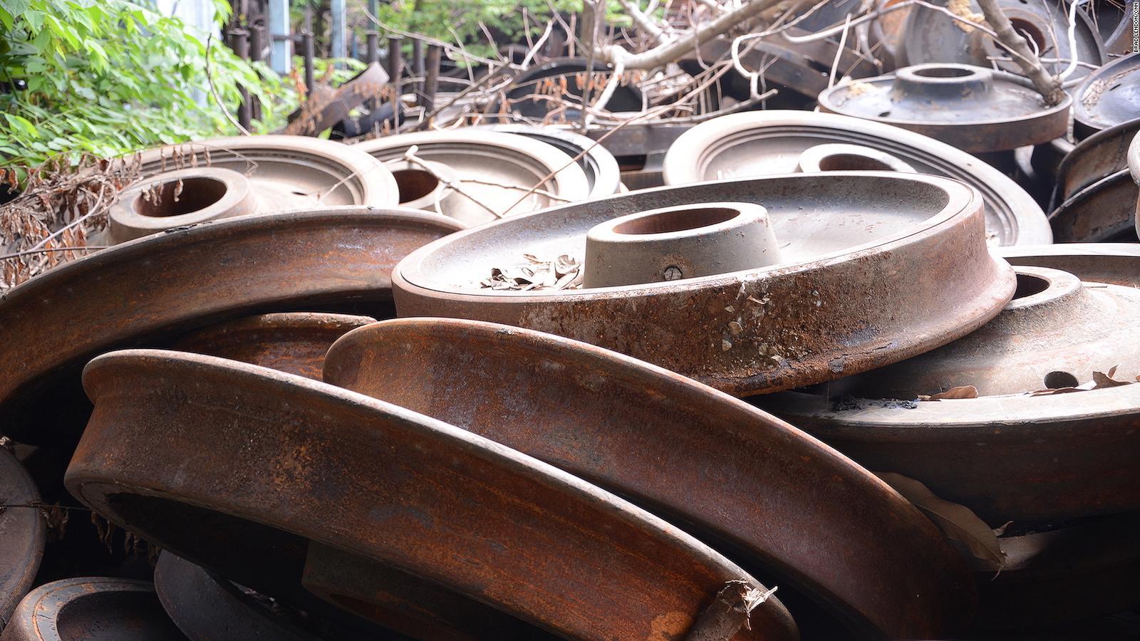 Makkasan, Bangkok's hidden train repair yard, keeps trains
