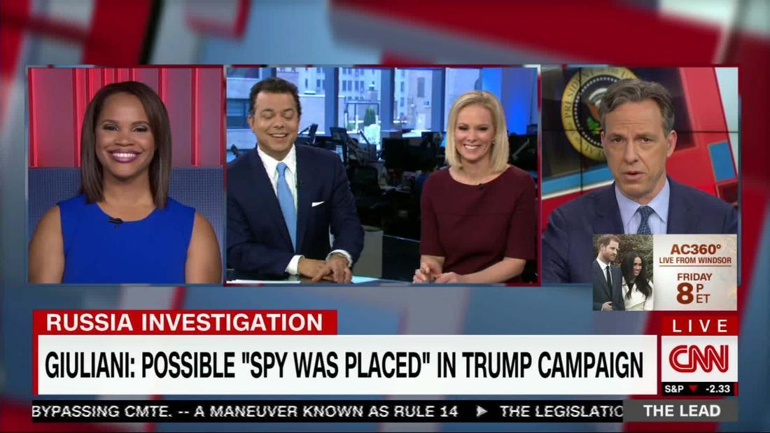 Giuliani: possible 'spy was placed' in Trump campaign ...