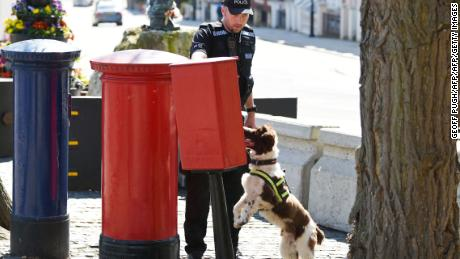 Police have been conducting thorough searches throughout Windsor in the weeks leading up to the royal wedding.