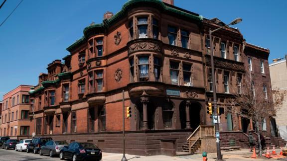 The Alpha Epsilon Pi fraternity house near Temple University in Philadelphia.
