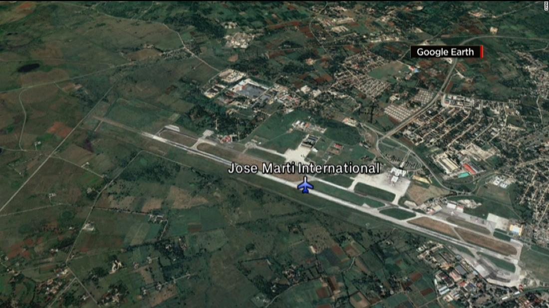 Plane crashes on takeoff from Havana airport, Cuban TV reports