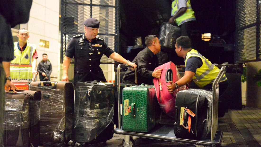 Malaysian police seize 72 bags of cash, jewels in Najib Razak raids