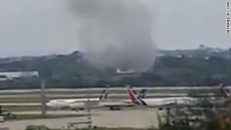 No one injured in Mexico plane 'miracle crash' - CNN Video